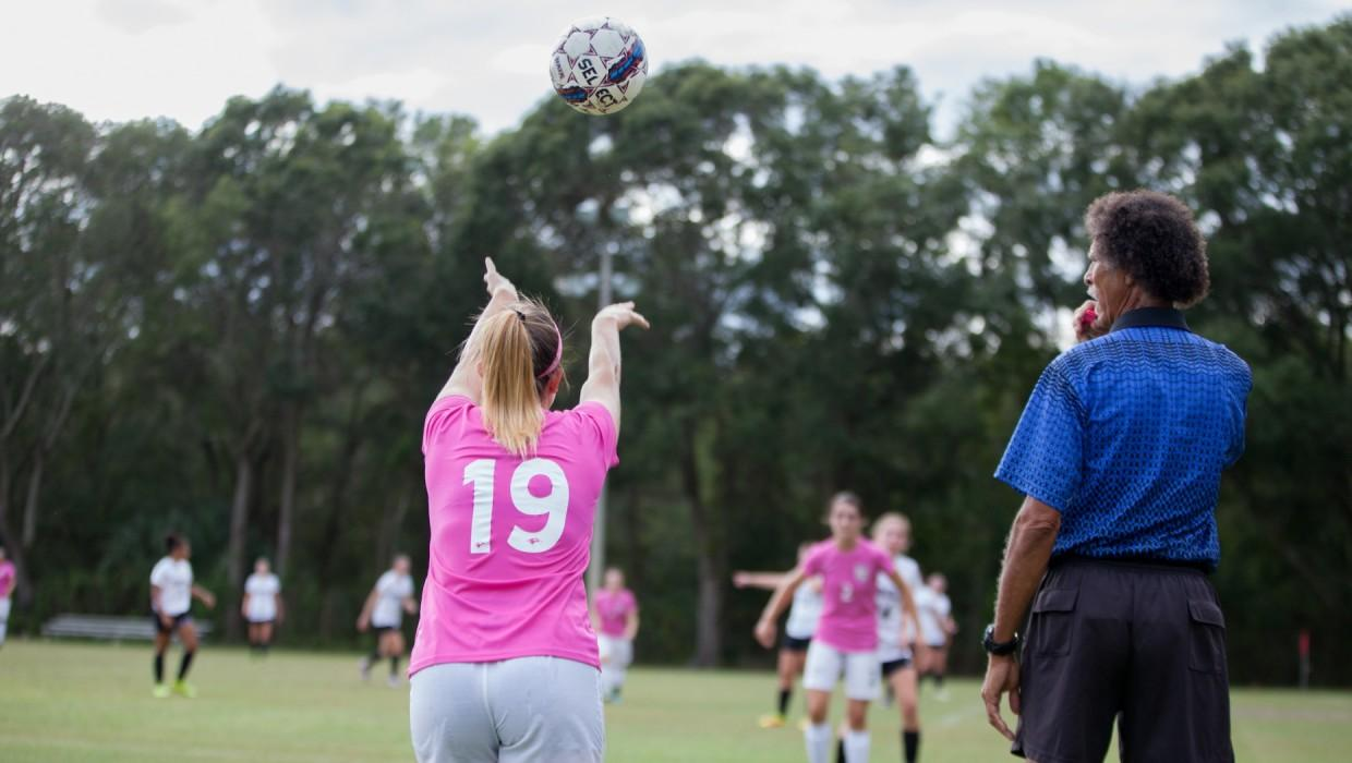 Women's Soccer vs. Broward College