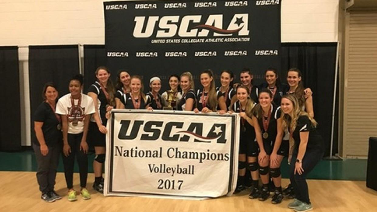 Four Straight! Florida College Wins the 2017 USCAA Volleyball National Championship